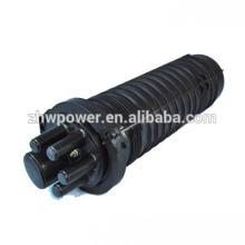 Dôme type 2in2out 24 96 cœurs fibre ABS Câble optique Splice Fermeture, coussinet d'épuration optique à l'eau