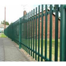 Clôture à palissade en acier haute sécurité, clôture à palissade