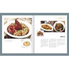 Menu de menu personalizado Impressão de folheto de catálogo personalizado