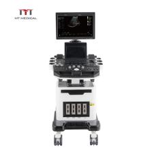 19 inch LED screen 128 element mobile 3d/4d color doppler ultrasound machine