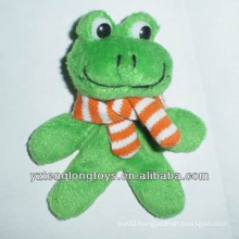 Factory Wholesale Fashionable Decorative Plush Frog Magnet