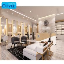 Modern Hair Salon Mirrors Styling Stations Furniture For Salon Hairdressing Beauty Salon Equipment