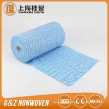 Impressão de onda 22 malhas spunlace tecido não tecido