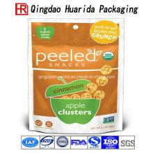 Envase popular de las bolsas de plástico de la merienda