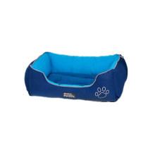 Warm Lounge Sleeper Blue Dog Bed
