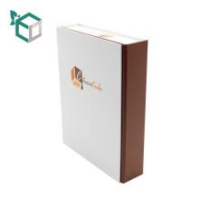 Роскошные формы книги бумажная Коробка ступень шоколада бумаги искусства упаковывая с крышкой