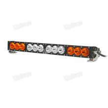 """Barra de luces LED para automóvil de una fila de 22 """"ámbar y 120 W"""