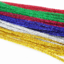 Decorativo y bricolaje, vástago de chenilla hecho a mano de juguetes educativos bricolaje
