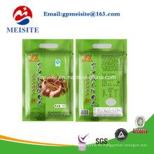 Plástico Compuesto Impresión Alimentación Embalaje Mango Bolsa De Arroz