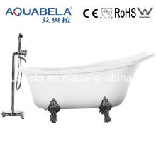 Luxus Acryl Clawfoot Solide Oberfläche Hot Tubs (JL624)
