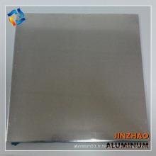 Série 8000 plaque d'aluminium brossé 8011 tôle d'aluminium prix
