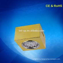 7w поверхностного монтажа квадратных светодиодный потолочный светильник / привели месте свет / светодиодные светильники