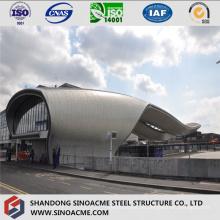 Steel Structure Pipe Truss Building para la estación de autobuses