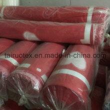 Stock Printed Brushed Pongee Stoff für Bettlaken