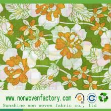 Fabricante de tela no tejida impresa Sunshine de China