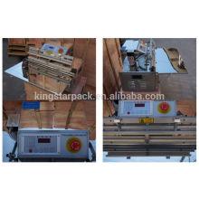 Gaz de rinçage en acier inoxydable nouvelle conception machines à vide automatique DZ500 pour le riz composant