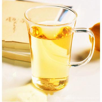 Copo de chá de vidro Borosilicate sem chumbo com alça