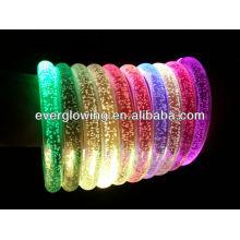 Pulseiras de flash LED para boate 2017