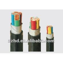 Cable de cobre de la energía --- 0.6 / 1KV PVC conductor de cobre aislado