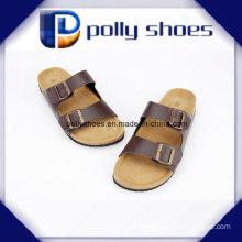 Men PU Cork Slipper Chinese Slippers on Sale