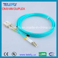 Sc-LC Om3 соединительная перемычка, Om3 кабель-патч-корд