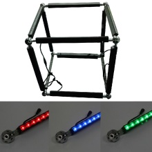 Music Active DMX RGB Pixel Linear Bar Light