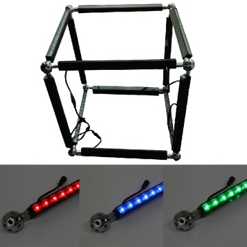 Regulável colorido LED Pixel Linear Bar Light