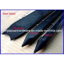Square Steel Nail Stake