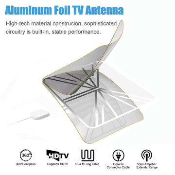 uhf antena de tv hdtv interior