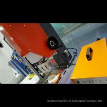 Máquina de selagem por máscara ultra-sônica para perolização de máscara cirúrgica