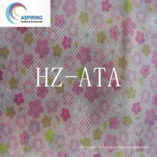 Tecido não tecido com sésamo Padrão DOT 20% reciclado 80GSM