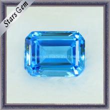 Rectángulo forma de gema de corte zirconia cúbico para la joyería