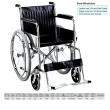Steel Durable Wheelchair