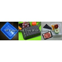 with Absorb Pad Disposable FDA/SGS Food Grade Custom Made Thermoformed Plastic Meat Container