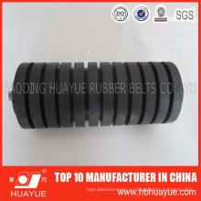 Промышленные резиновые конвейерные ленты, несущей удара стальной более неработающий ролик для конвейер