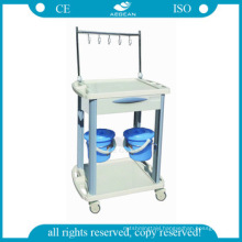 AG-IT001B3 CE ISO medical patient IV treatment injection hospital iv trolley for distributors