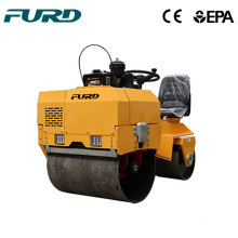 700kg HYDRO-GEAR Pump Mini Vibrating Road Roller 700kg HYDRO-GEAR Pump Mini Vibrating Road Roller FYL-855
