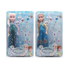 Muñeca congelada del juguete de la manera plástica de 18 pulgadas (H9538157)