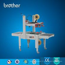 Machine à emballer semi automatique de scelleur de carton d'emballage de bande adhésive Fxj6050