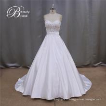 Свадебное платье бальное платье атласная штапики 2016