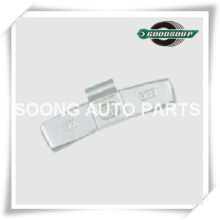 Epoxy Polyester Coating, Super Quality, Steel/Fe Clip on Wheel Balance Weights for steel wheel(truck)