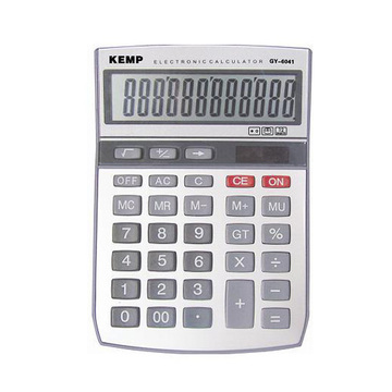 12 digits grey middle Calculator