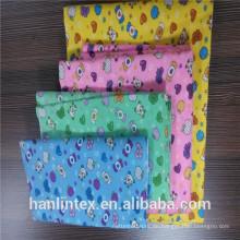 100% Baumwoll-Flanell-Uni-Stoff für Herrenhemden