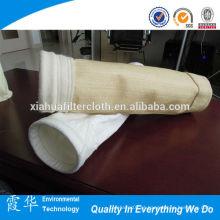 Ptfe de alta qualidade revestido de fibra de vidro sacos de filtro de poeira