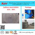 Ácido sulfúrico de grado electrónico H2SO4 93 96 98