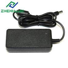 Adaptador de energia 24v dc 1.8a fonte de alimentação CCTV