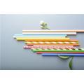Food Grade Paper Straws Multi color Disposable Eco-friendly Biodegradable