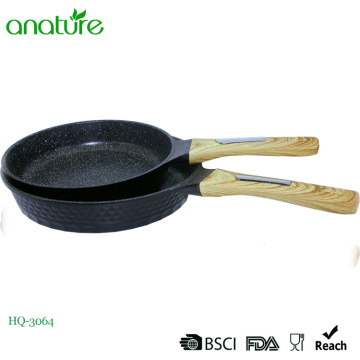Ustensiles de cuisine Diamond Design Die Cast Fry Pan