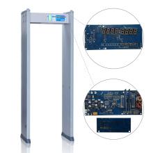 Aeroportos / Portos de segurança Detector de metais portátil de segurança de alta precisão