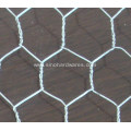 3/8 Inch Electro Galvanized Hexagonal Wire Mesh